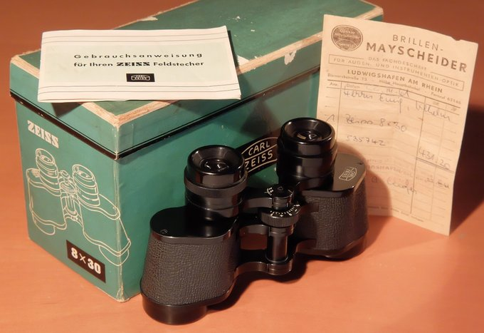 Legendary binoculars - Carl Zeiss 8x30 - Carl Zeiss 8x30 - 1954-1978