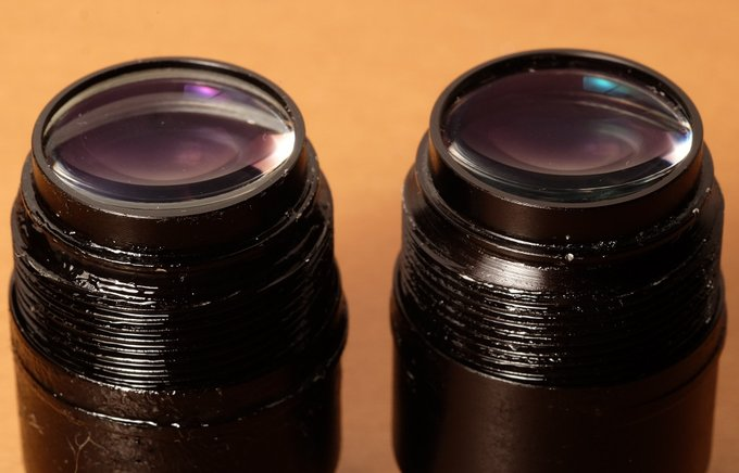 Comet 6x24 binoculars from the inside – what went wrong? - Eyepieces