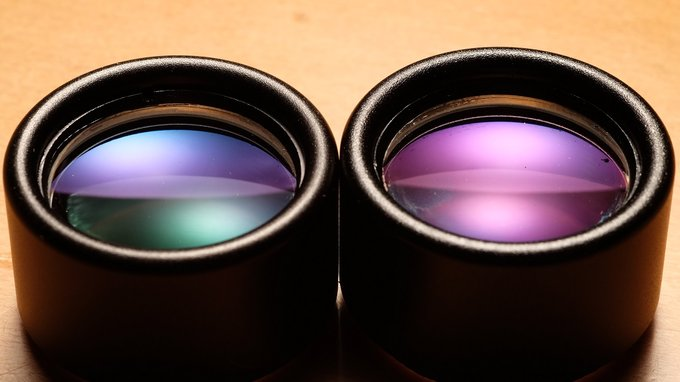 Comet 6x24 binoculars from the inside – what went wrong? - Objective lenses