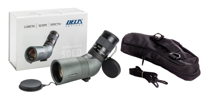 Delta Optical Titanium 50ED – high magnification in your pocket - Delta Optical Titanium 50ED – high magnification in your pocket