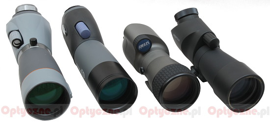 Review of four 65 ED spotting scopes - Introduction