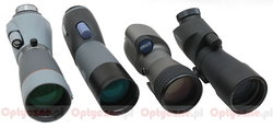 Review of four 65 ED spotting scopes